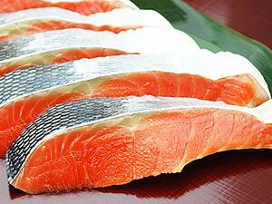 北洋紅鮭切身