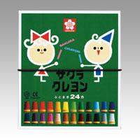 クレヨン太巻24色'☆'