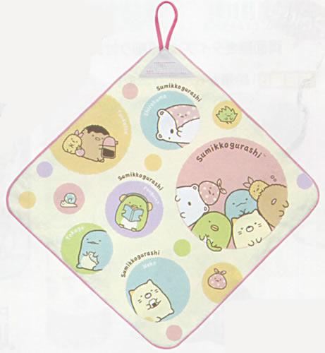 すみっコぐらしS/Gハッピースクールループ付タオル(CM72101)