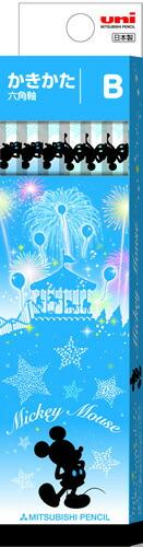 ディズニーブルー(DSB)ディズニーミッキーマウス[MickyMouse]鉛筆55936角(B)(かきかたえんぴつダース箱入)(K5593B)