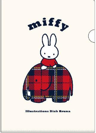DickBruna(ディックブルーナ)Miffy(ミッフィー)A4クリアホルダー(シングル)(MF464B)