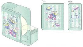 ディズニートイストーリー「DisneyTOYSTORY」エイリアンテープカッター(セロハンテープ)(S4833600)