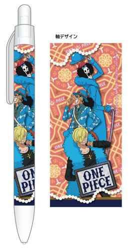 ワンピース[OnePiece]シャープペンシル/C:サンジ・ウソップ・ブルック(U91-17H-047)
