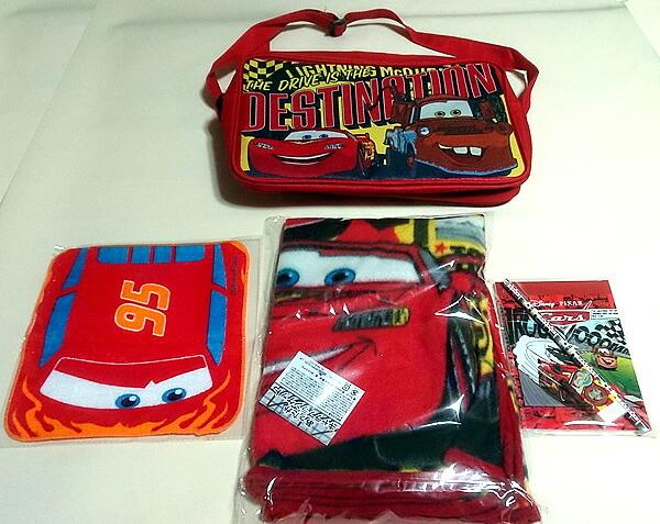 カーズ[DisneyPIXARCars]ハッピー福袋バッグ(ショルダーバッグに入った文具福袋)(CS18-1500)