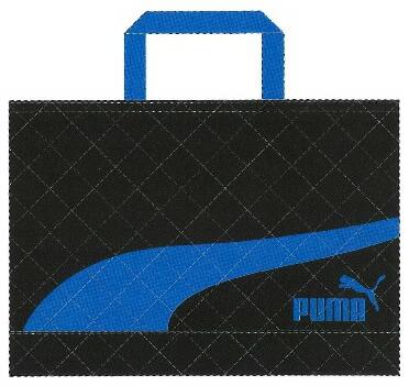 プーマ(PUMA)レッスンバッグ(手提げかばん/スクールバッグ)ブラック(PM187BK)