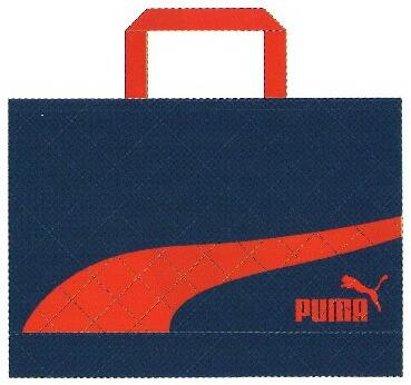 プーマ(PUMA)レッスンバッグ(手提げかばん/スクールバッグ)ネイビー(PM187NB)