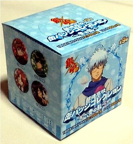 銀魂[ぎんたま]缶バッジコレクション全9種類コンプリートBOX(U91-18A-020)