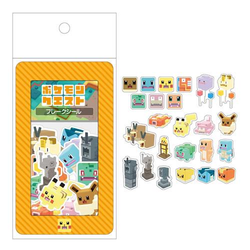 ポケットモンスターサン&ムーン[ポケモンSun&Moon]ポケモンクエストシリーズフレークシール(256-4040-01)
