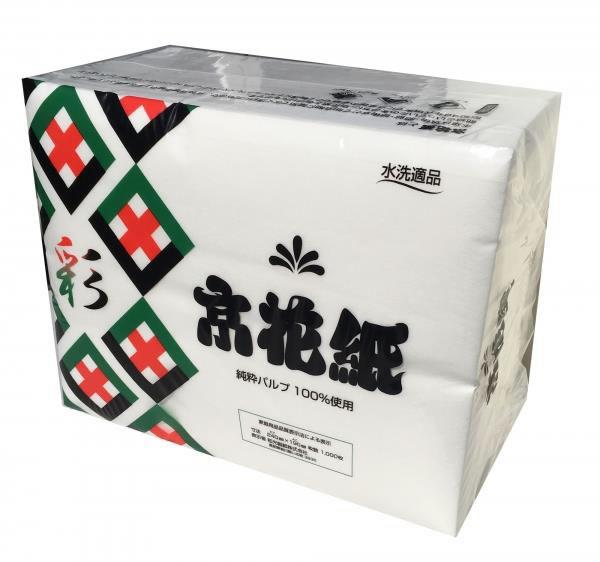 化粧紙「京花紙彩(いろどり)」(1000枚入1袋)(和光製紙製)(4903635780155)