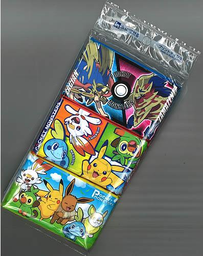 ポケットモンスター[ポケモン]PocketMonster水に流せるポケットティッシュ6個パック(4977033115215)