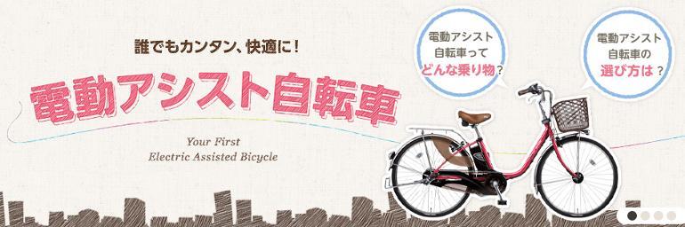 特集1 電動アシスト自転車ViVi