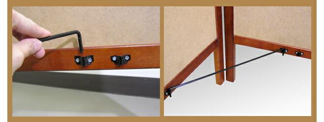 L型マーカー黒板スタンド細部2