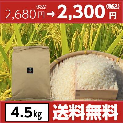 令和元年宮崎県産ヒノヒカリ4.5kg