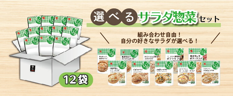 選べるサラダ惣菜セット