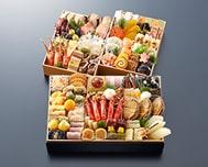 京都御所南 京料理「やまの」監修 変形三段重 珠天箱