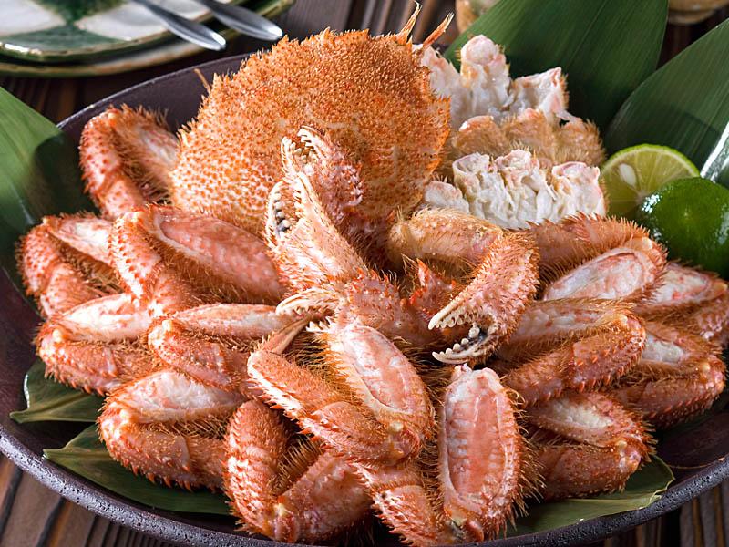 ご自宅にいながら北海道の毛蟹を味わえます。