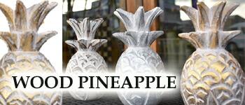パイナップル 木彫り