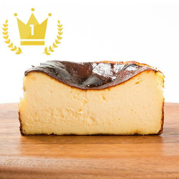 真っ黒バスクチーズケーキ