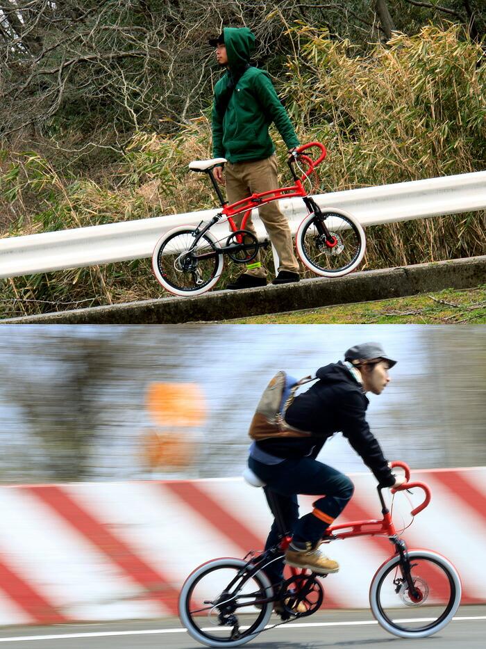 20インチ 折りたたみ自転車 217 [ シマノ7段変速 自転車 ドロップハンドル サスペンション  ドッペルギャンガー DOPPELGANGER ]