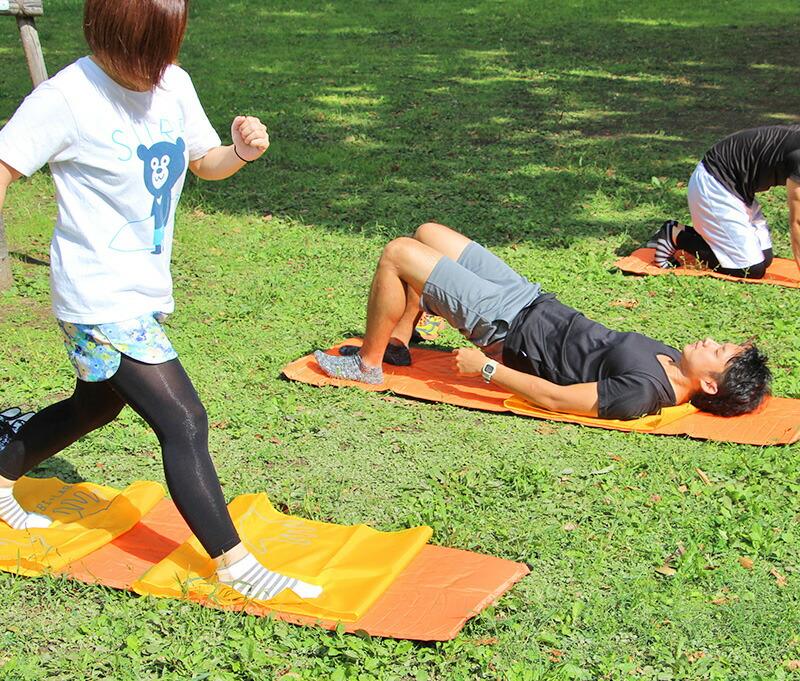スリスリスリマー フィットネス マット ヨガ ダイエット ジョギング ランニング   ビビラボ BIBI LAB sm1-20