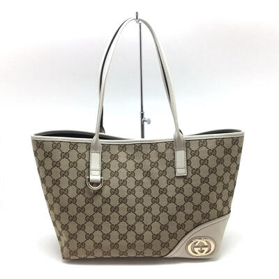 GUCCI【グッチ】 169946 トートバッグ GGロゴ 【中古/USED-A】【美品】【目玉】k17-4690