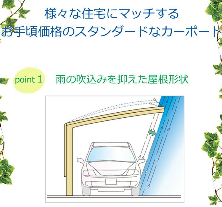 カーポート_屋根形状