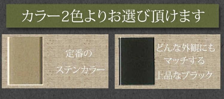 大型伸縮門扉シンプル1型_色