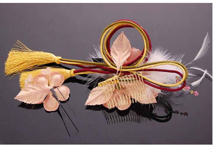 梅 花 髪飾り 髪留め ヘアアクセサリー