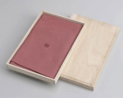 【桐箱付】絹の風呂敷(ふろしき)松篁好 かほりの彩ふじみやび風呂敷 45cm
