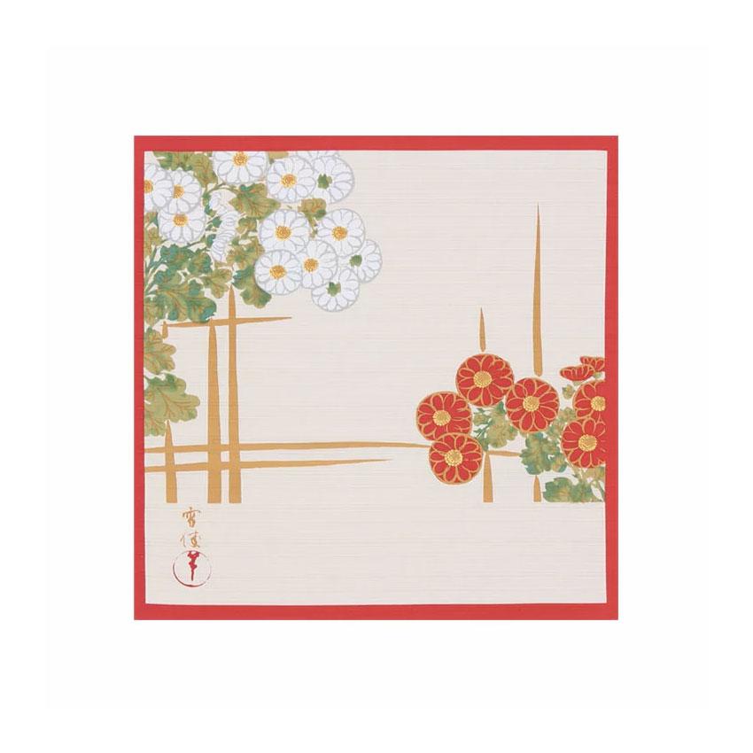 神坂雪佳 籬(まがき)に菊