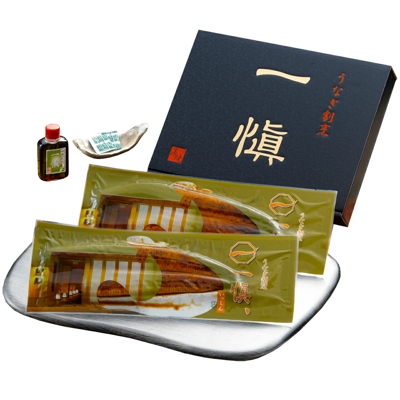 敬老祝い うなぎ割烹「一愼」特製長蒲焼