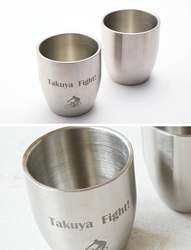 Wステンレスカップの特徴