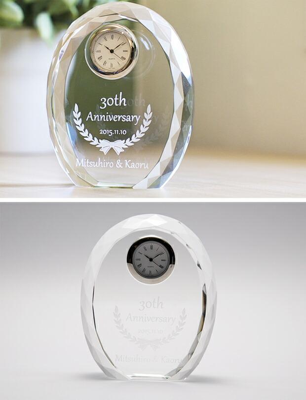 クリスタル時計の特徴