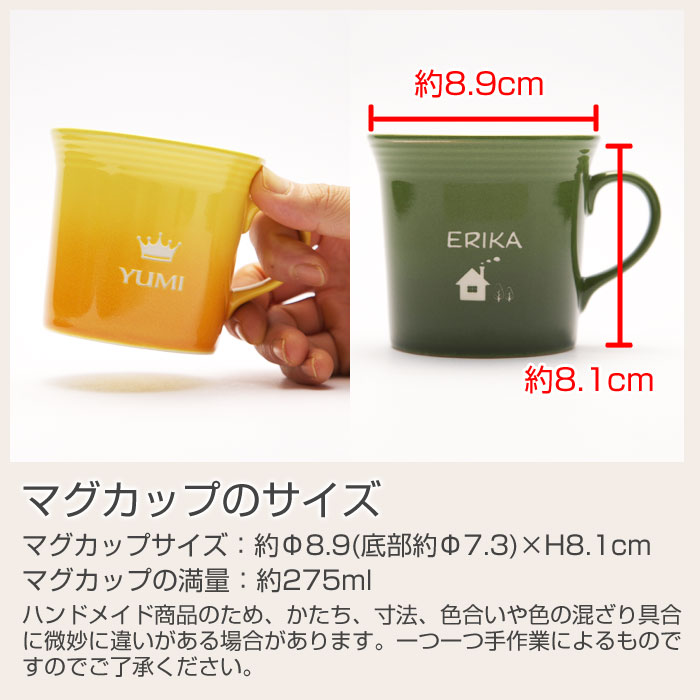 マグカップのサイズ