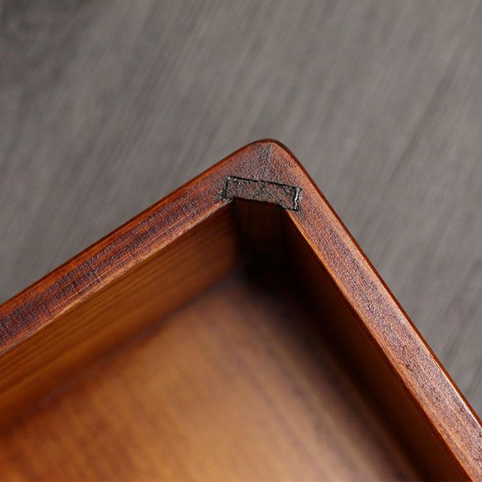 木製 ひのき 拭き漆 日本製 国産 弁当箱 木 拭きうるし お弁当箱 ランチボックス bento ひのき 桧 うるし うるし仕上げ 漆