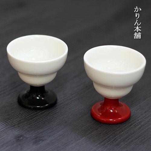 小鉢 高台珍味入 高砂 黒 朱 全2種