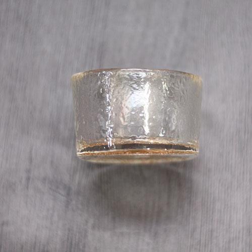 小鉢 ガラス 硝子金彩珍味入 切立 変形 全2種