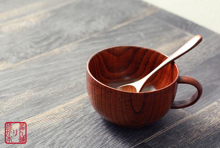 木製スープカップ 350cc