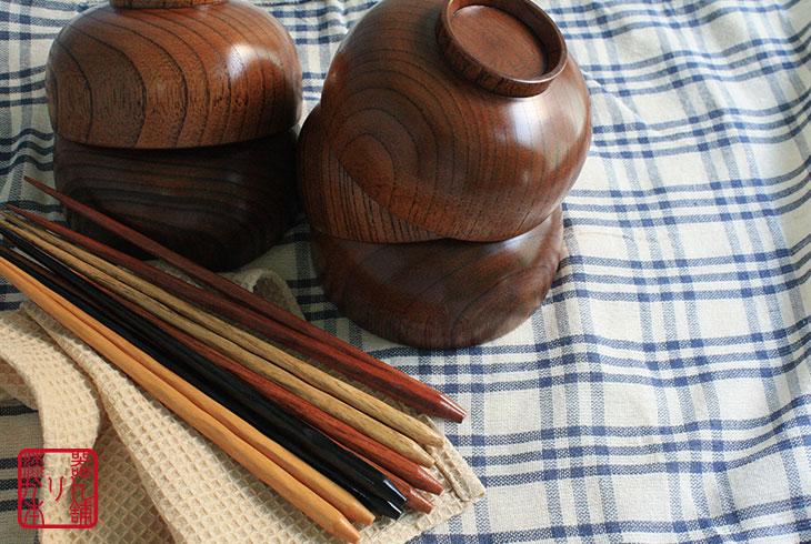 布袋椀5客箸5膳セット
