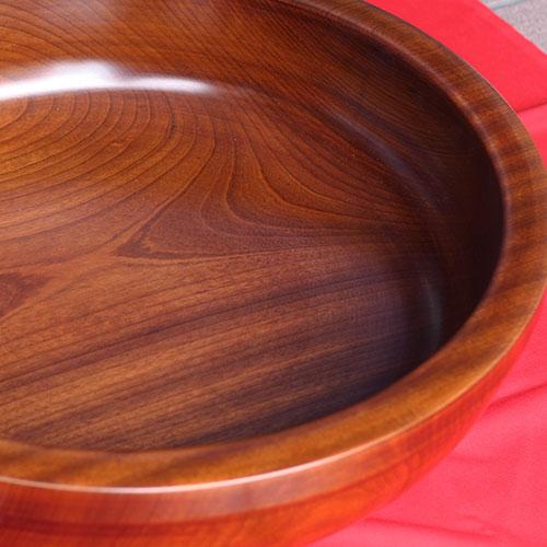 こね鉢 手こね鉢 くり抜き 木製 けやき 特大 60cm 【代引不可】【ギフト包装不可】【 在庫限り】