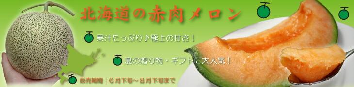 メロン 北海道赤肉めろん