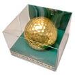 金箔ゴルフボール