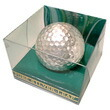 銀箔ゴルフボール