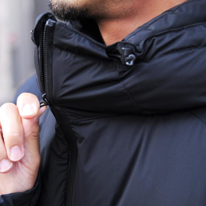 【送料無料】 マニュアルアルファベット ナンガ ダウンジャケット メンズ ダウン 黒 ブラック オリーブ カーキ アウター 防寒 おしゃれ 日本製 MANUAL ALPHABET NANGA DOWN JACKET M/A PCU DOWN JACKET MA-J-214 送料無料