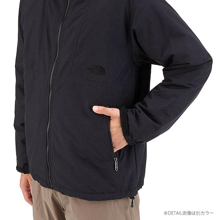 ザ ノースフェイス THE NORTH FACE コンパクトノマドジャケット Compact Nomad Jacket メンズ ネイビー NAVY 防風 撥水 アウター NP71633 送料無料