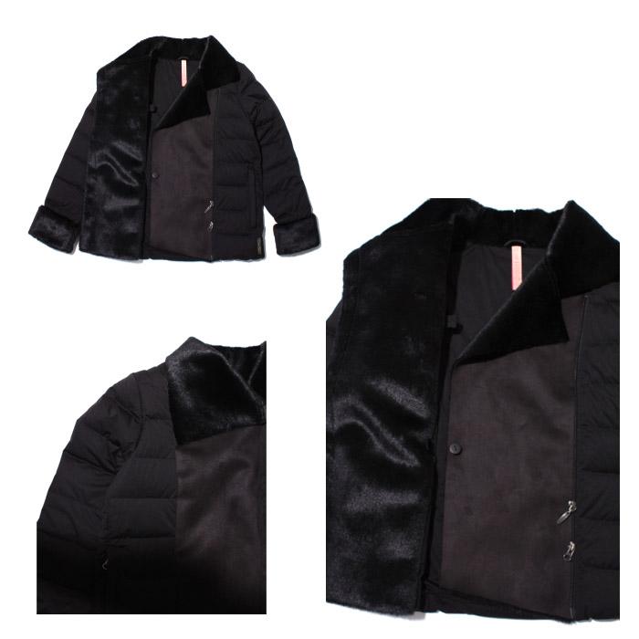 YOSOOU よそおう ダウン レディース ダウンジャケット キャメル ネイビー ブラック 黒 アウター 粧う ヨソオウ YO811003 ファー もこもこ 送料無料