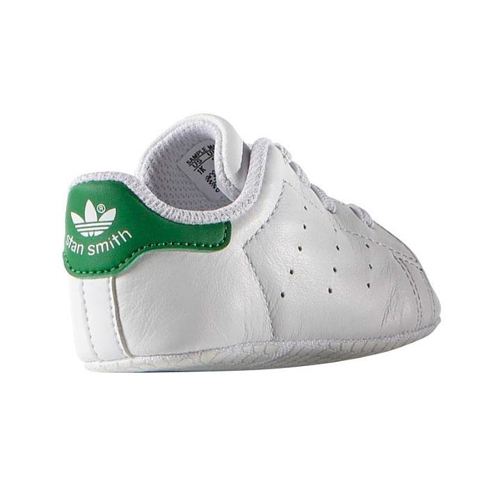 アディダス オリジナルス スタンスミス クリブ スニーカー ベビー シューズ ファーストシューズ 赤ちゃん お祝い ギフト ホワイト グリーン 白 緑 adidas Originals STAN SMITH CRIB