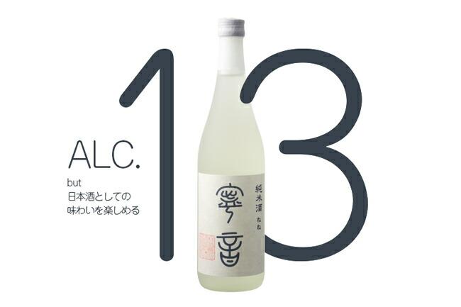 アルコール13度