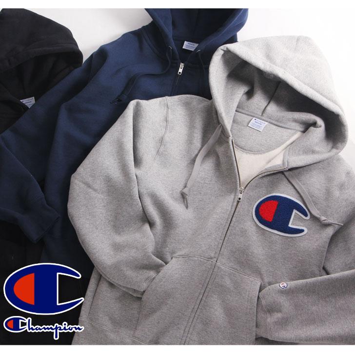 kawa | Rakuten Global Market: Champion Champion big logo zip up ...
