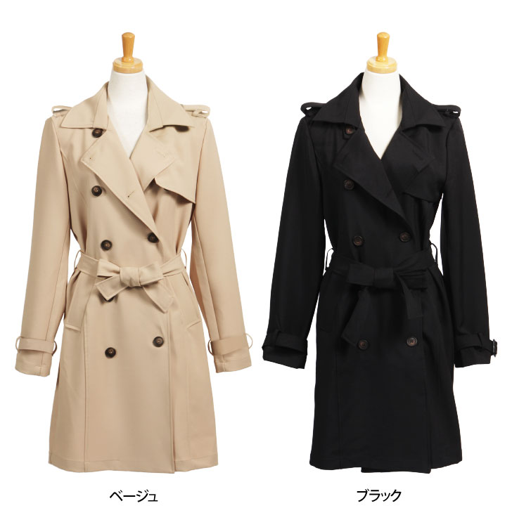 kawa | Rakuten Global Market: Basic long-length trench coats ...